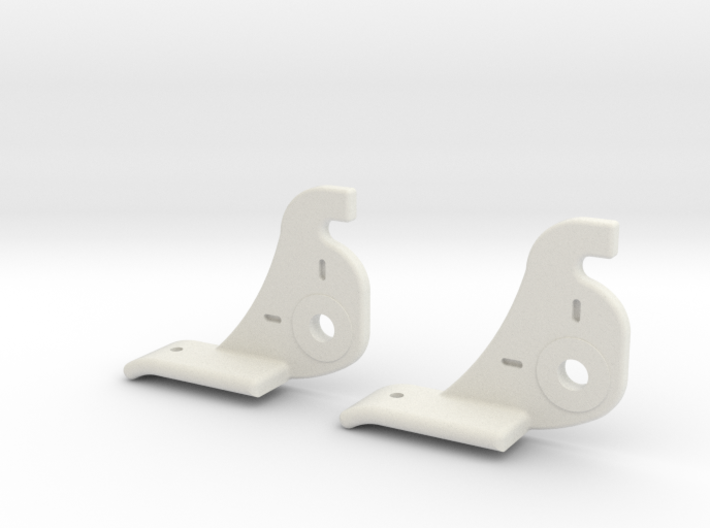 Atwood Short Window Latch 3d printed Latches for Atwood RV window frame