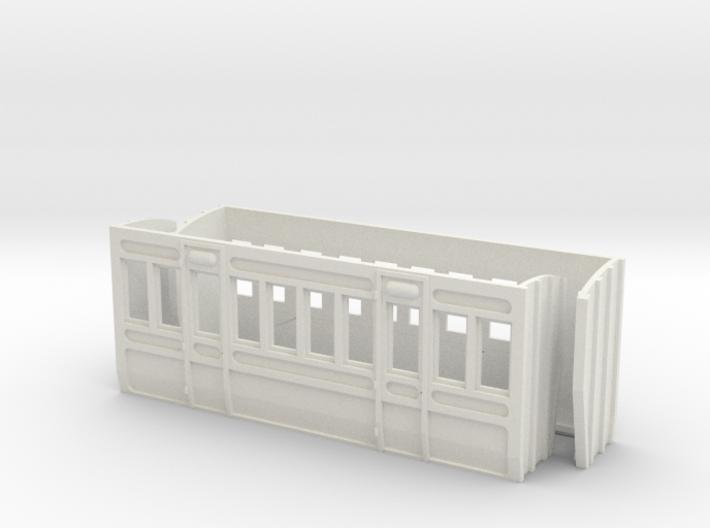 O Gauge Lartigue Coach Parts 3d printed