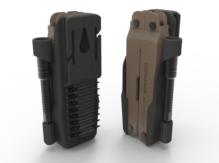 Holster for Leatherman ST300M 3d printed Tools not included, one holster per order.