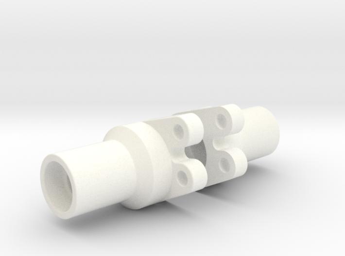 Losi Mini Rock Crawler Lockout for rear axle 3d printed