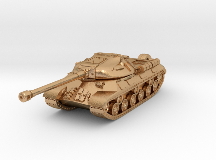 Tank - IS-3 - keychain 3d printed