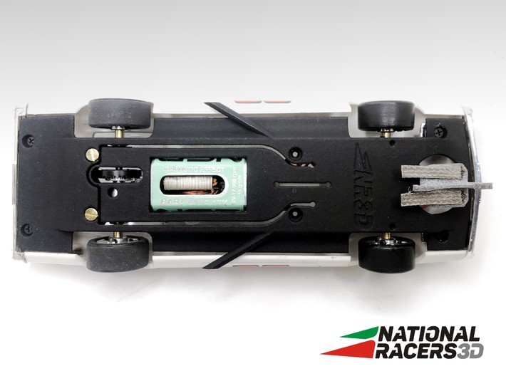 Chassis - Carrera Ford Torino (In-AiO) 3d printed