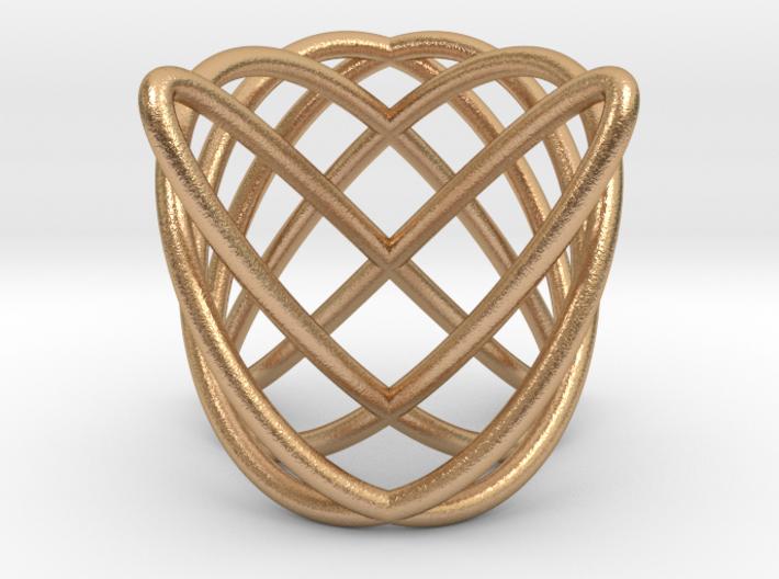 Major Triad Earring 3d printed