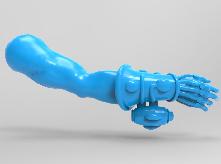 Space Elf Harlequin Caress with Arm LH x10 3d printed