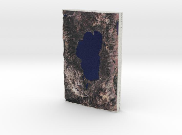 Lake Tahoe, California/Nevada, 1:500000 3d printed