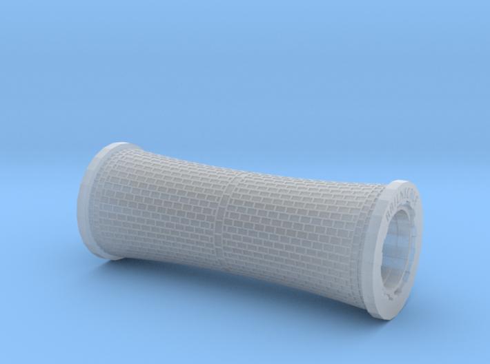 All-in-1 Roller Reihenverband - konvex (N - TT) 3d printed