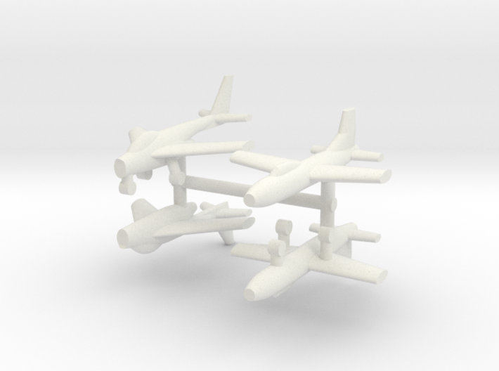 1/285 Experimental Aircraft Set 6 3d printed