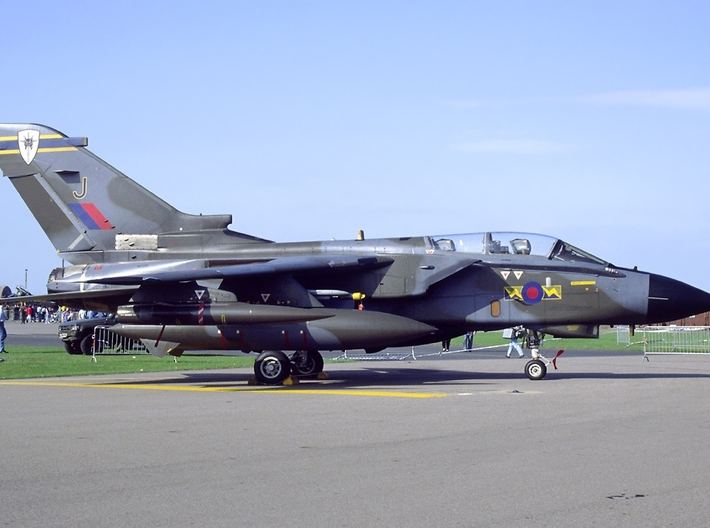 Nameplate Panavia Tornado 3d printed
