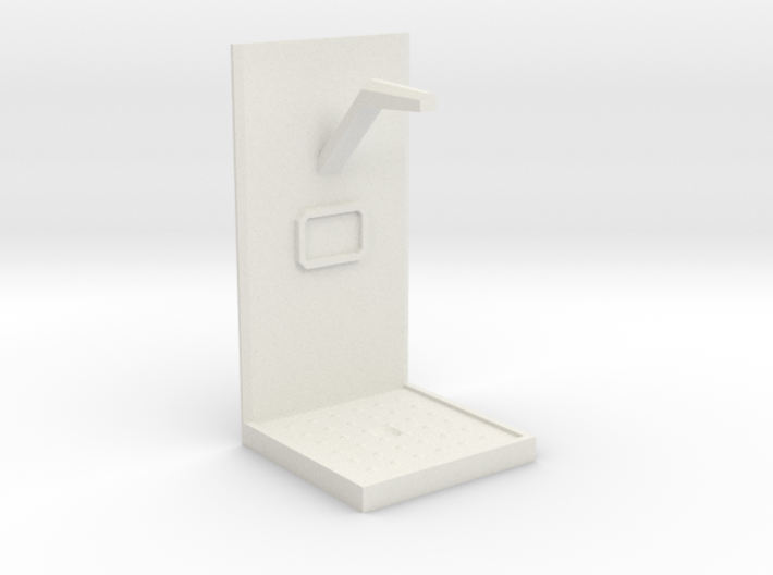 Future Shower Unit - 28mm to 32mm scale 3d printed