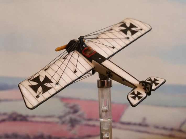 "Pfalz E.II (various scales) 3d printed Photo, paint job, and wires by Tim ""Flying Helmut"" at wingsofwar.org"