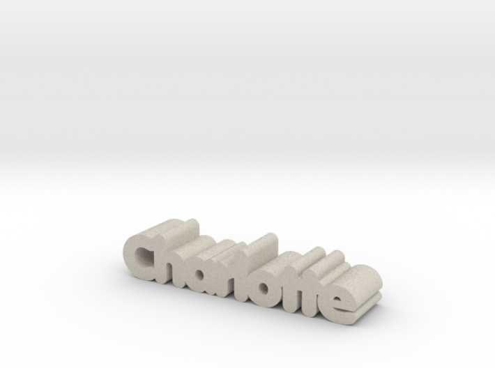 Charlotte 3d printed