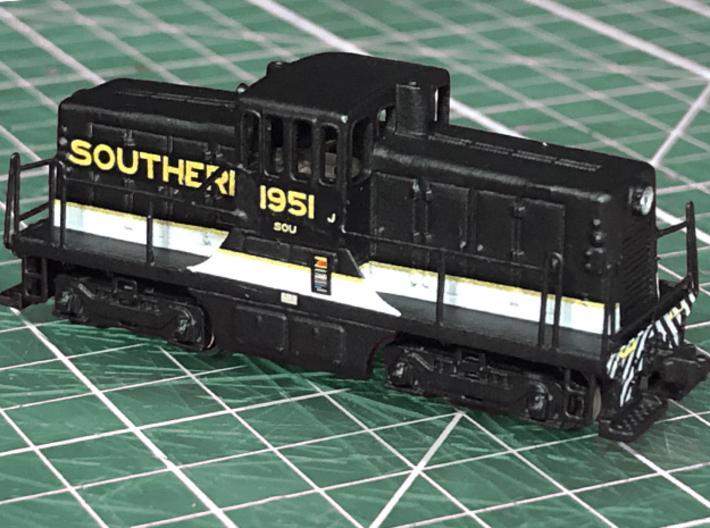 Z Scale 44 Tonner Locomotive 3d printed