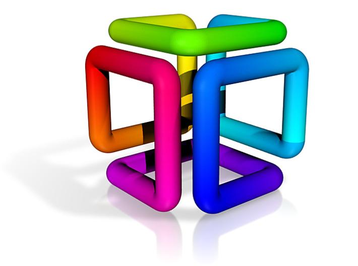 Spectrum Cube 3d printed