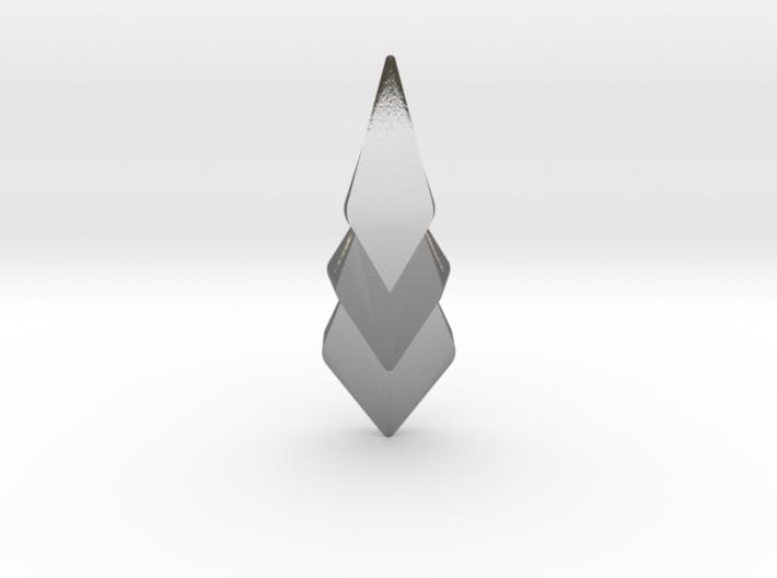 Hidden Hearts 101 ,pendant 3d printed