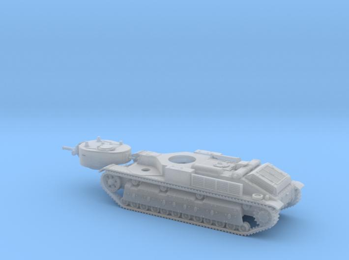 1/72nd scale T-28 soviet medium tank 3d printed