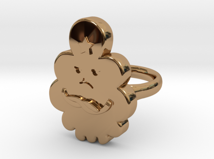 Lumpy Space Princess Ring (Large) 3d printed