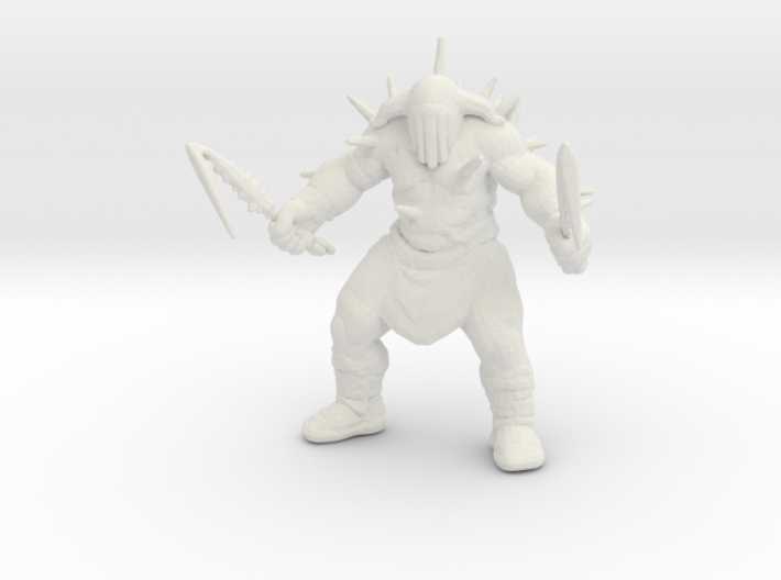 Hades god of war 100mm DnD miniature games rpg 3d printed