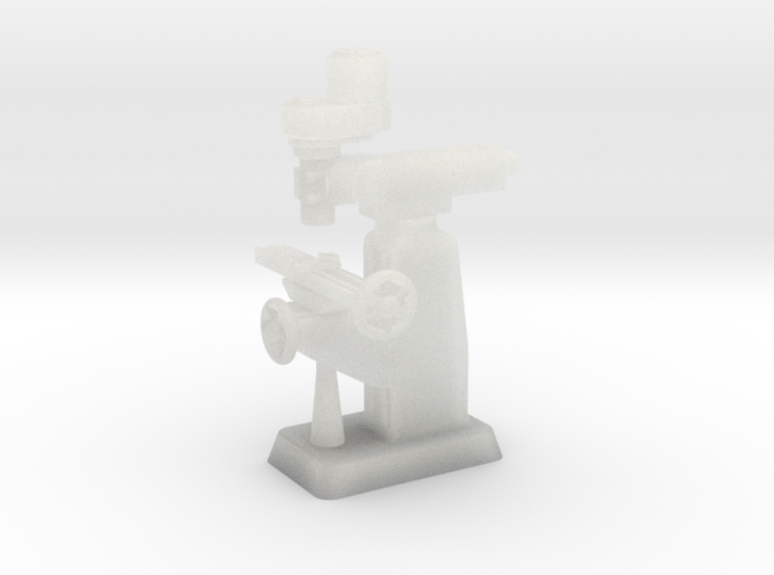 Milling Machine HO Scale 1/87 3d printed