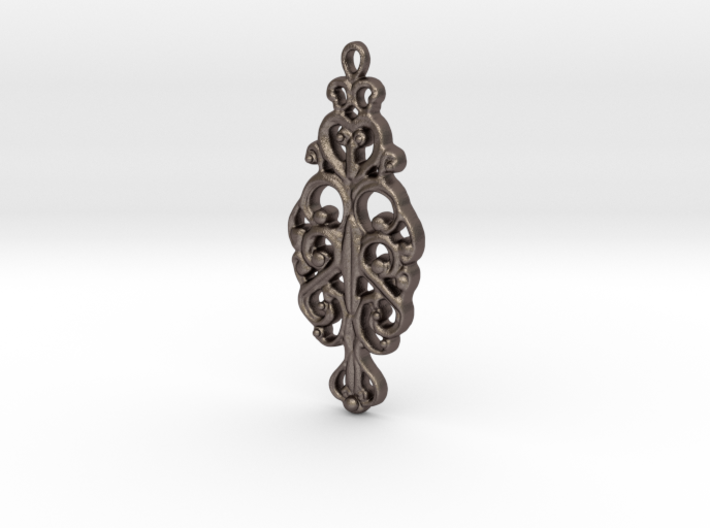 Ornamental Pendant 3d printed