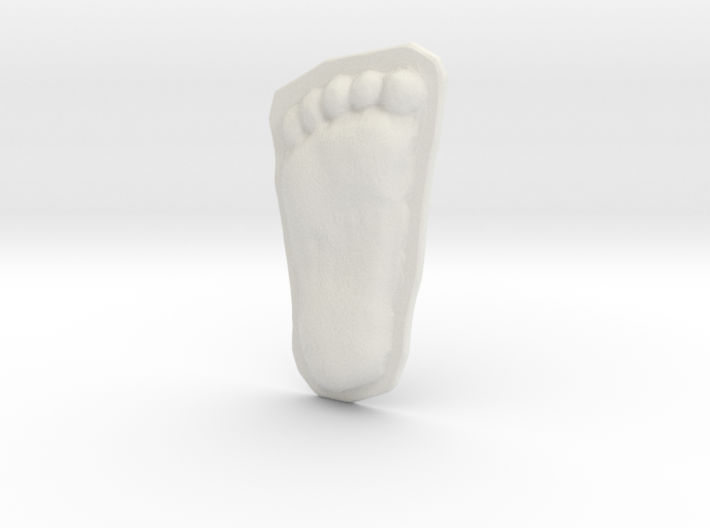 Bigfoot Footprint Cast 1/3 Scale 3d printed