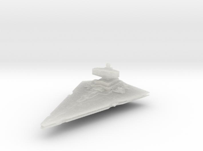 Empire light Cruiser Coruscant 3d printed