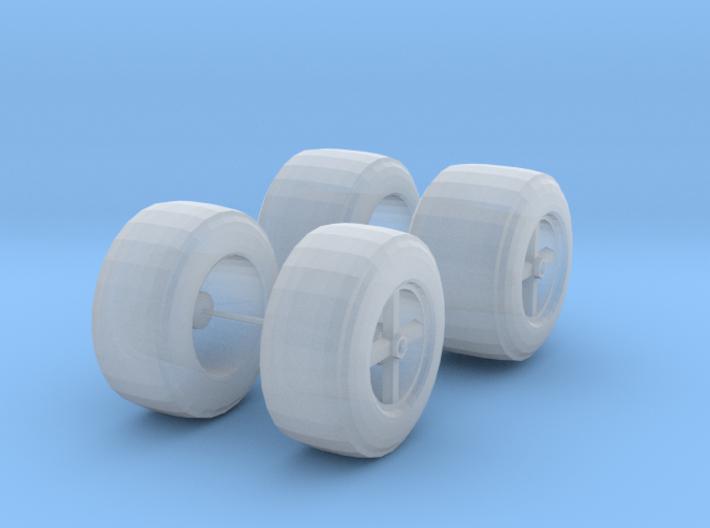 Parnelli 72-73 Tires 3d printed