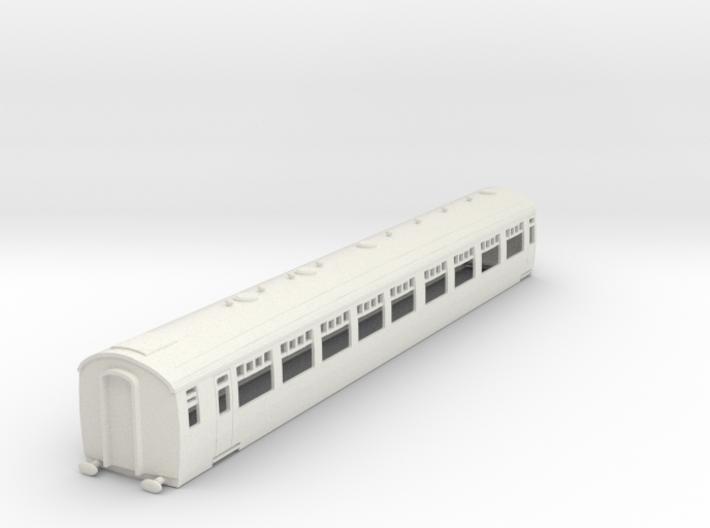 o-87-sr-bulleid-d2665-saloon-coach-mod 3d printed