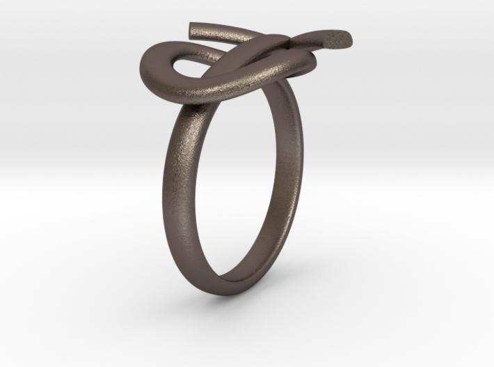 Male Symbol Ring 3d printed