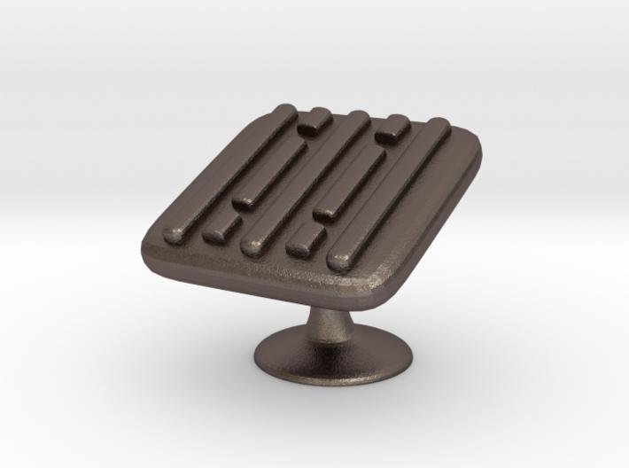 Metal Cufflinks ver. 4 3d printed