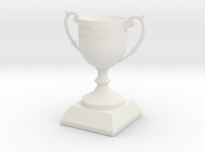 Father's Day Trophy 3d printed