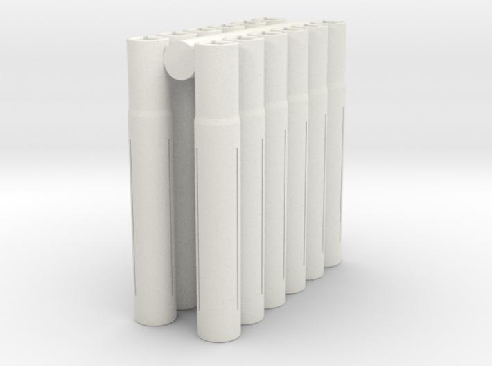 "Expandable ""5.96mm"" Barrel Lap (12 pack) 3d printed"