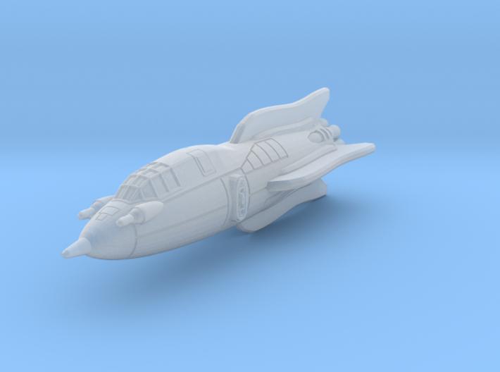 Terran Battle Rocket Arion 3d printed