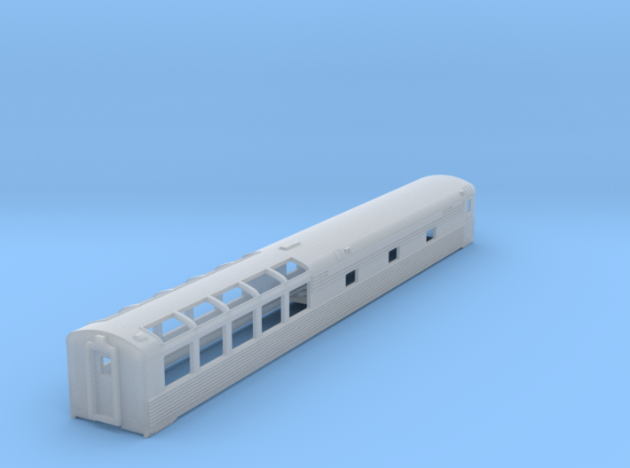 SAL - SCL - Amtrak Sun Lounge 3d printed