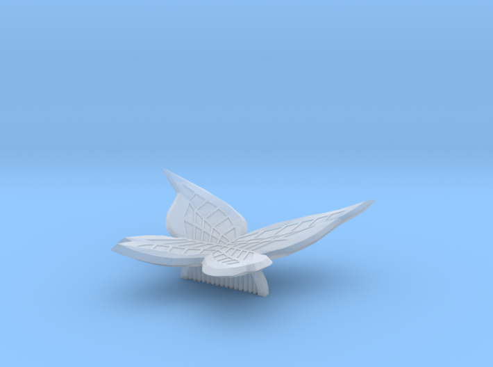 Butterfly Comb 3d printed