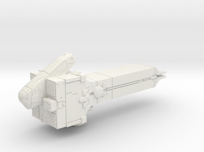 LoGH Imperial Destroyer (788 UC era) 1:2000 3d printed