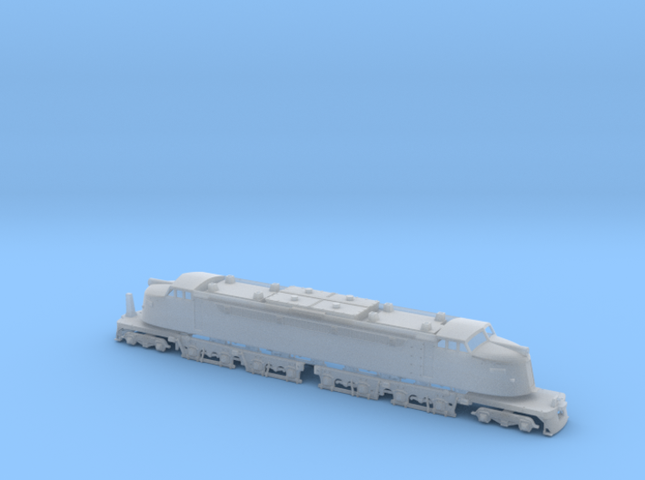 NScale EF4 Little Joe, Milwaukee Road Early with F 3d printed