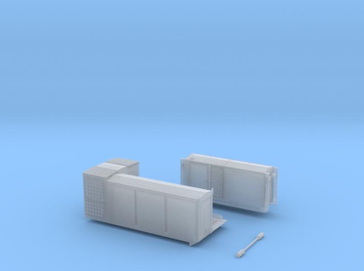 HFS-Wafo Kurzer Container moderner Bauart 3d printed