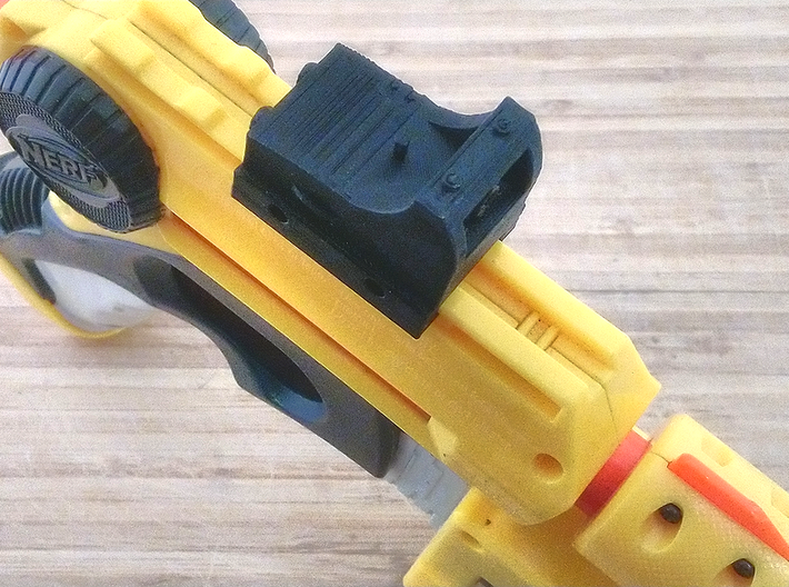 Micro Red Dot Sight Mark II for Picatinny Rail 3d printed