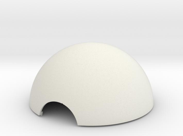 Pokeball Hemisphere 3d printed