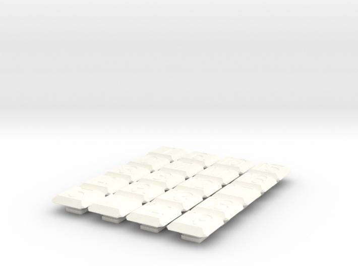 15+4 puzzle (Tiles) 3d printed