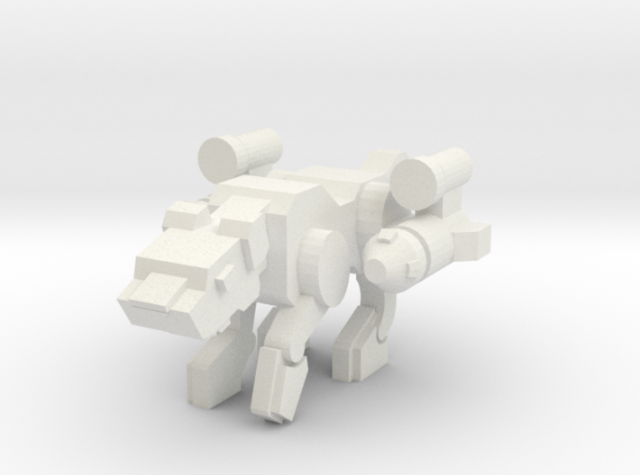 Jagwarrior (50% bigger) 3d printed