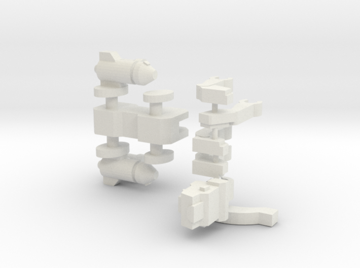Articulated Jagwarrior (50% bigger) 3d printed