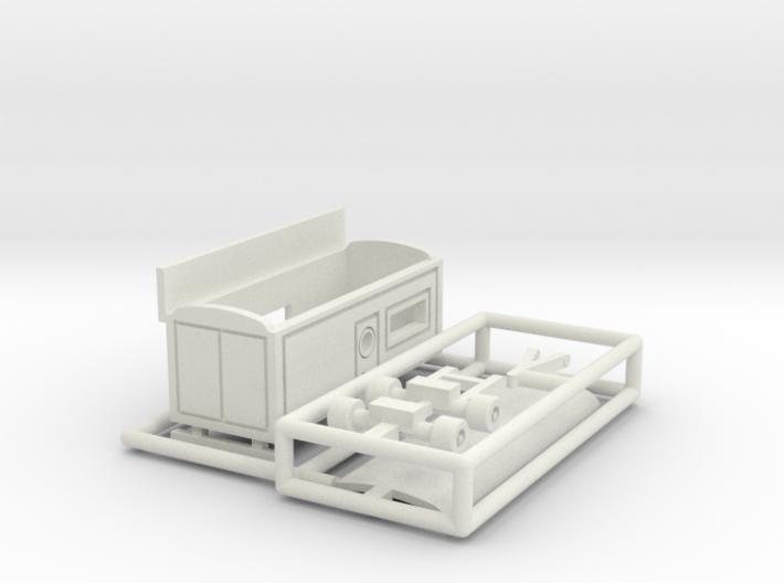Kassenwagen 2 ohne Erker - 1:160 (N scale) 3d printed