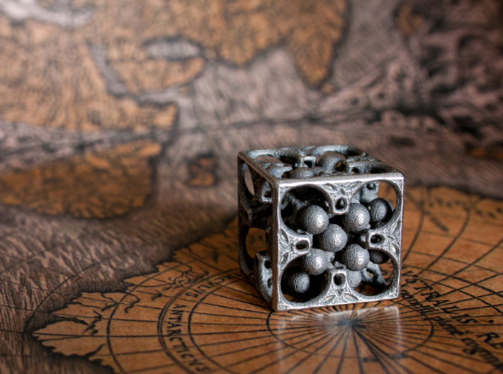 GOD's DICE 3d printed Five