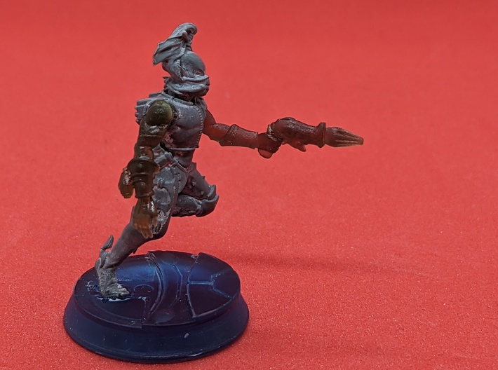Space Elf Harlequin Caress with Arm LH x5 3d printed