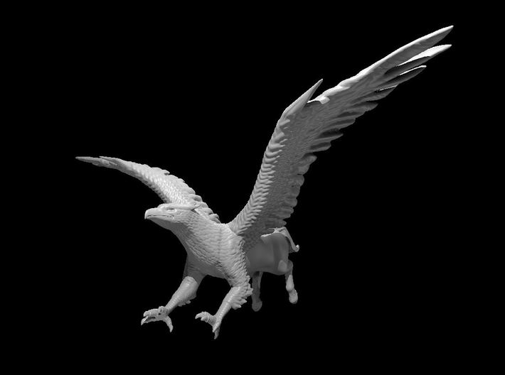 Hippogriff 3d printed