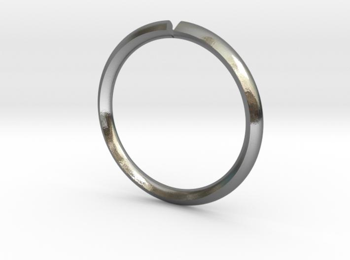 Secret Hidden Heart Ring (Size 9) 3d printed