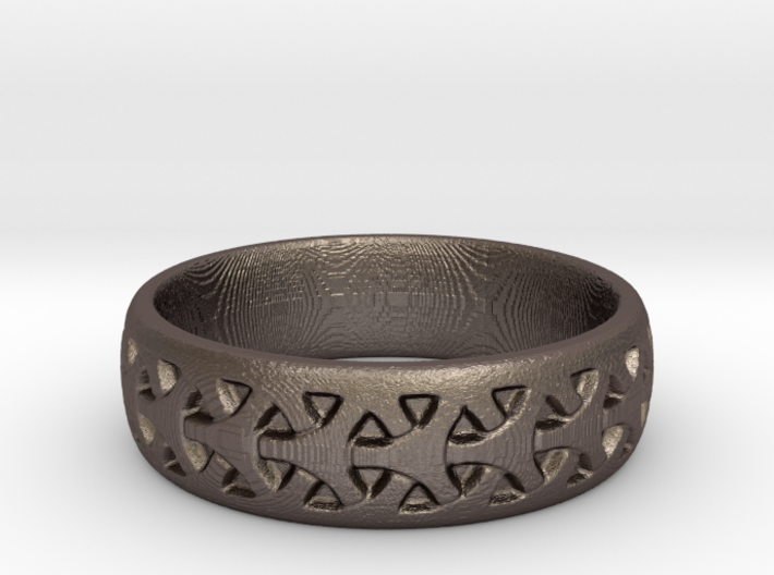 Seamless Celtic Pattern Ring 3d printed
