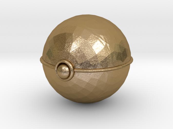 Pokeball (big) 3d printed