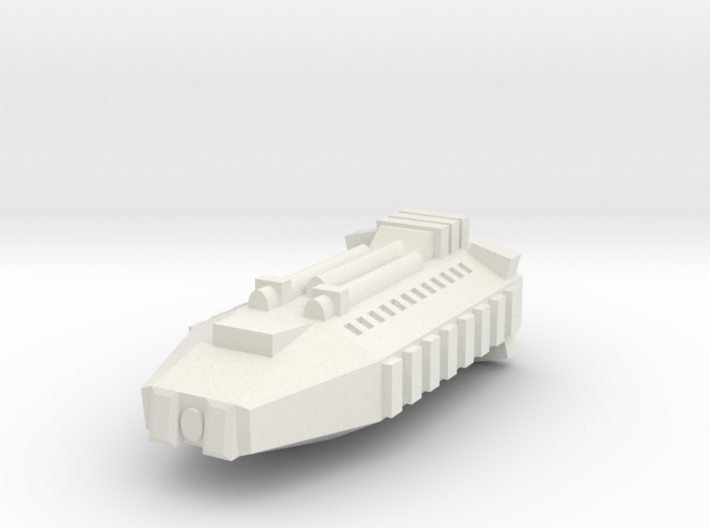 Earther Combat Shuttle 3d printed